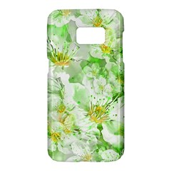 Light Floral Collage  Samsung Galaxy S7 Hardshell Case