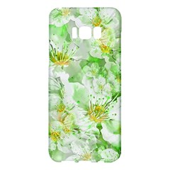 Light Floral Collage  Samsung Galaxy S8 Plus Hardshell Case