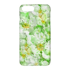 Light Floral Collage  Apple Iphone 8 Plus Hardshell Case