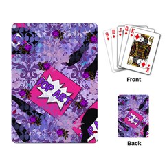 Purlpe Retro Pop Playing Card