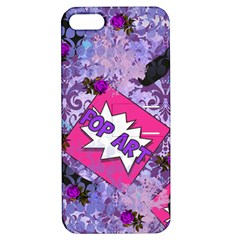 Purlpe Retro Pop Apple Iphone 5 Hardshell Case With Stand