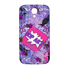Purlpe Retro Pop Samsung Galaxy S4 I9500/i9505  Hardshell Back Case
