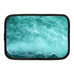 Green Ocean Splash Netbook Case (medium)