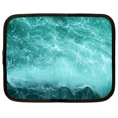 Green Ocean Splash Netbook Case (xl)