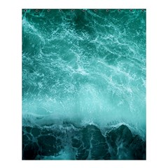 Green Ocean Splash Shower Curtain 60  X 72  (medium)