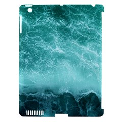 Green Ocean Splash Apple Ipad 3/4 Hardshell Case (compatible With Smart Cover)