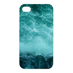 Green Ocean Splash Apple Iphone 4/4s Premium Hardshell Case
