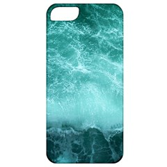 Green Ocean Splash Apple Iphone 5 Classic Hardshell Case