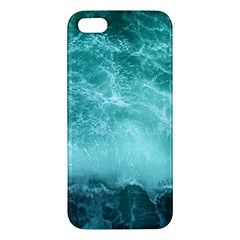 Green Ocean Splash Apple Iphone 5 Premium Hardshell Case