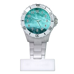 Green Ocean Splash Plastic Nurses Watch