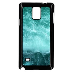 Green Ocean Splash Samsung Galaxy Note 4 Case (black)