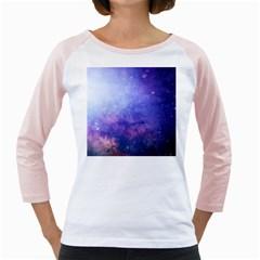 Galaxy Girly Raglans