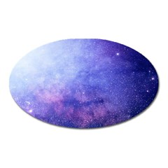 Galaxy Oval Magnet