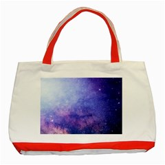 Galaxy Classic Tote Bag (red)