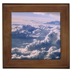 In The Clouds Framed Tiles