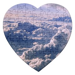 In The Clouds Jigsaw Puzzle (heart)