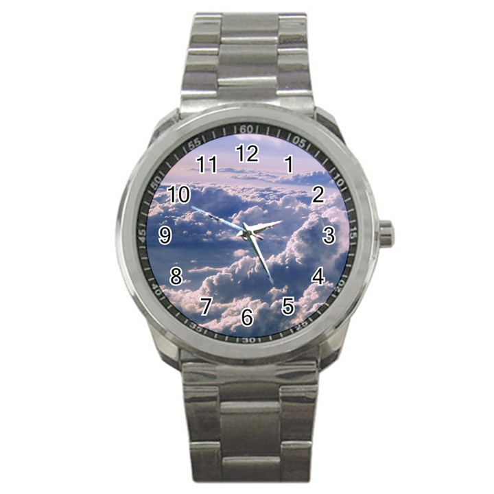 In The Clouds Sport Metal Watch