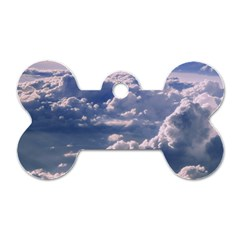 In The Clouds Dog Tag Bone (two Sides)