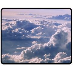 In The Clouds Fleece Blanket (medium)