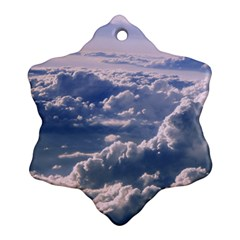 In The Clouds Ornament (snowflake)