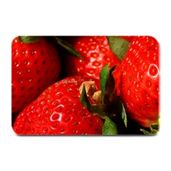 Red Strawberries Plate Mats