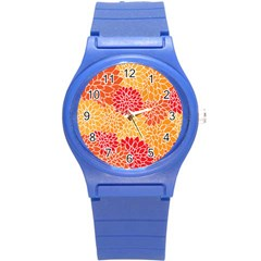 Abstract 1296710 960 720 Round Plastic Sport Watch (s)
