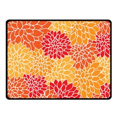 Abstract 1296710 960 720 Double Sided Fleece Blanket (small)