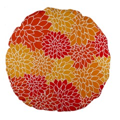 Abstract 1296710 960 720 Large 18  Premium Flano Round Cushions