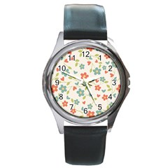 Abstract 1296713 960 720 Round Metal Watch