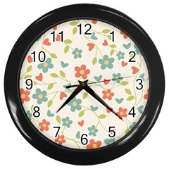 Abstract 1296713 960 720 Wall Clocks (black)