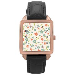 Abstract 1296713 960 720 Rose Gold Leather Watch