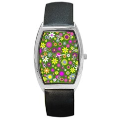 Abstract 1300667 960 720 Barrel Style Metal Watch