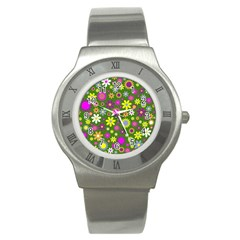 Abstract 1300667 960 720 Stainless Steel Watch