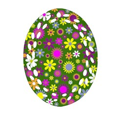 Abstract 1300667 960 720 Oval Filigree Ornament (two Sides)