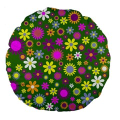 Abstract 1300667 960 720 Large 18  Premium Flano Round Cushions