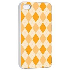 Argyle 909253 960 720 Apple Iphone 4/4s Seamless Case (white)