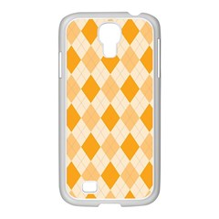 Argyle 909253 960 720 Samsung Galaxy S4 I9500/ I9505 Case (white)