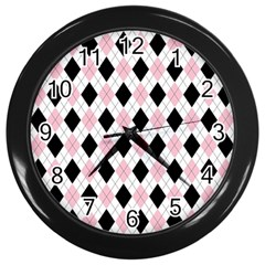 Argyle 316837 960 720 Wall Clocks (black)