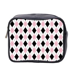 Argyle 316837 960 720 Mini Toiletries Bag 2 Side