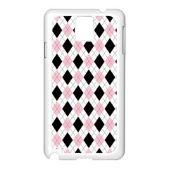 Argyle 316837 960 720 Samsung Galaxy Note 3 N9005 Case (white)