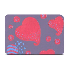 Lollipop Attacked By Hearts Plate Mats