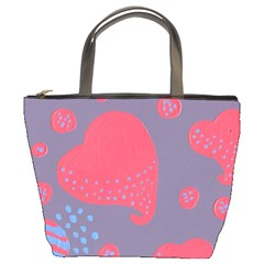 Lollipop Attacked By Hearts Bucket Bags