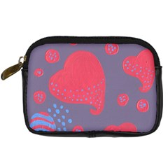 Lollipop Attacked By Hearts Digital Camera Cases