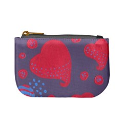 Lollipop Attacked By Hearts Mini Coin Purses