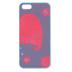 Lollipop Attacked By Hearts Apple Seamless Iphone 5 Case (color)