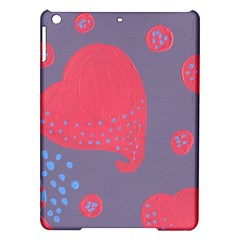 Lollipop Attacked By Hearts Ipad Air Hardshell Cases