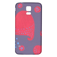 Lollipop Attacked By Hearts Samsung Galaxy S5 Back Case (white)