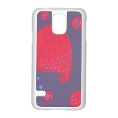 Lollipop Attacked By Hearts Samsung Galaxy S5 Case (white)