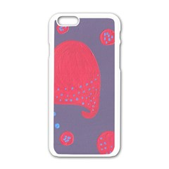Lollipop Attacked By Hearts Apple Iphone 6/6s White Enamel Case