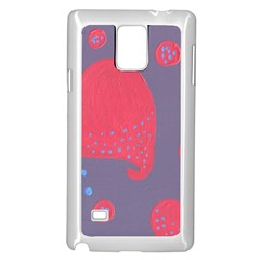 Lollipop Attacked By Hearts Samsung Galaxy Note 4 Case (white)